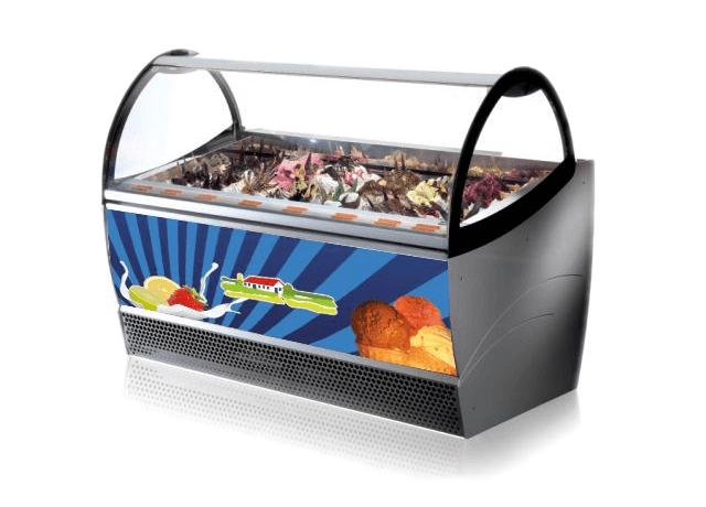 Kühltruhe von Bauernhof-Eis