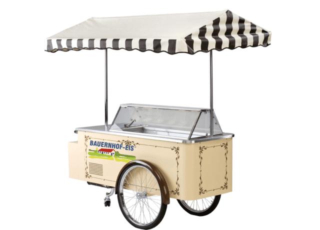 Eiswagen von Bauernhof-Eis