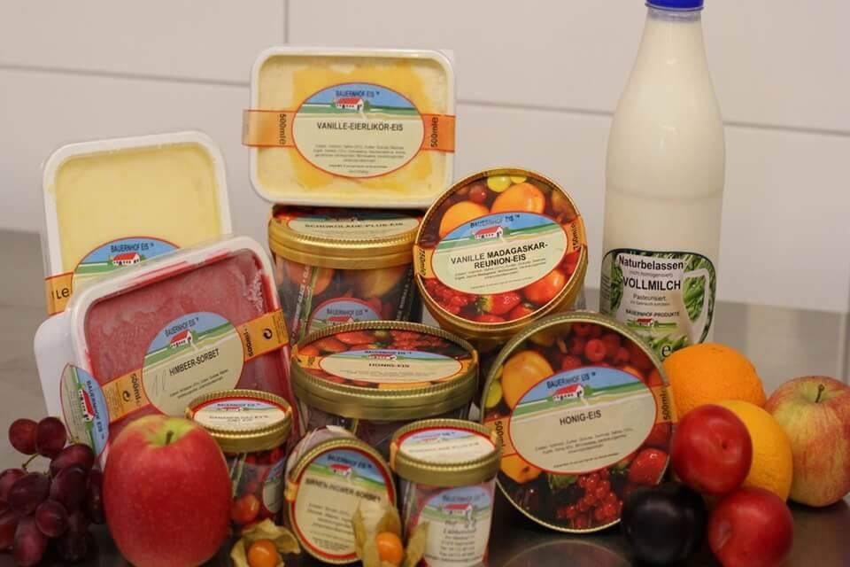 Abgepacktes Bauernhof-Eis, äußerst geeignet für den Verkauf in Ihrem lokalen Supermarkt